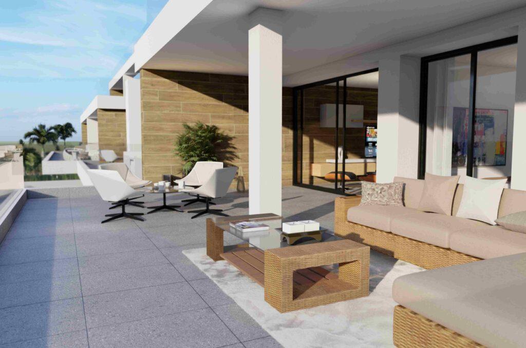 image Appartement avec grande terrasse 7