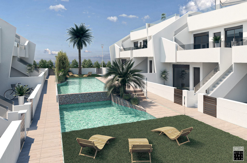 image appartement avec piscine Espagne