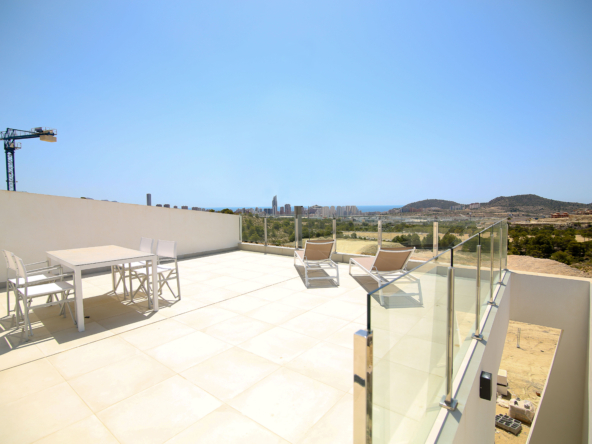 image Penthouse in Finestrat with sea view