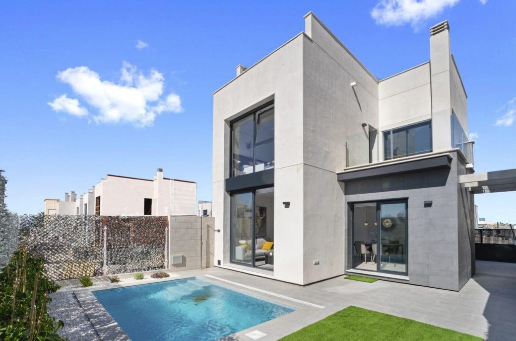 IMAGE Villa Moderne avec Piscine Privée à Villamartin