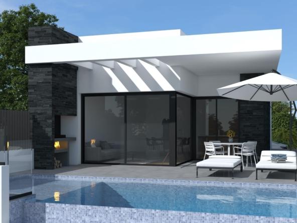 image maison a vendre en espagne avec piscine