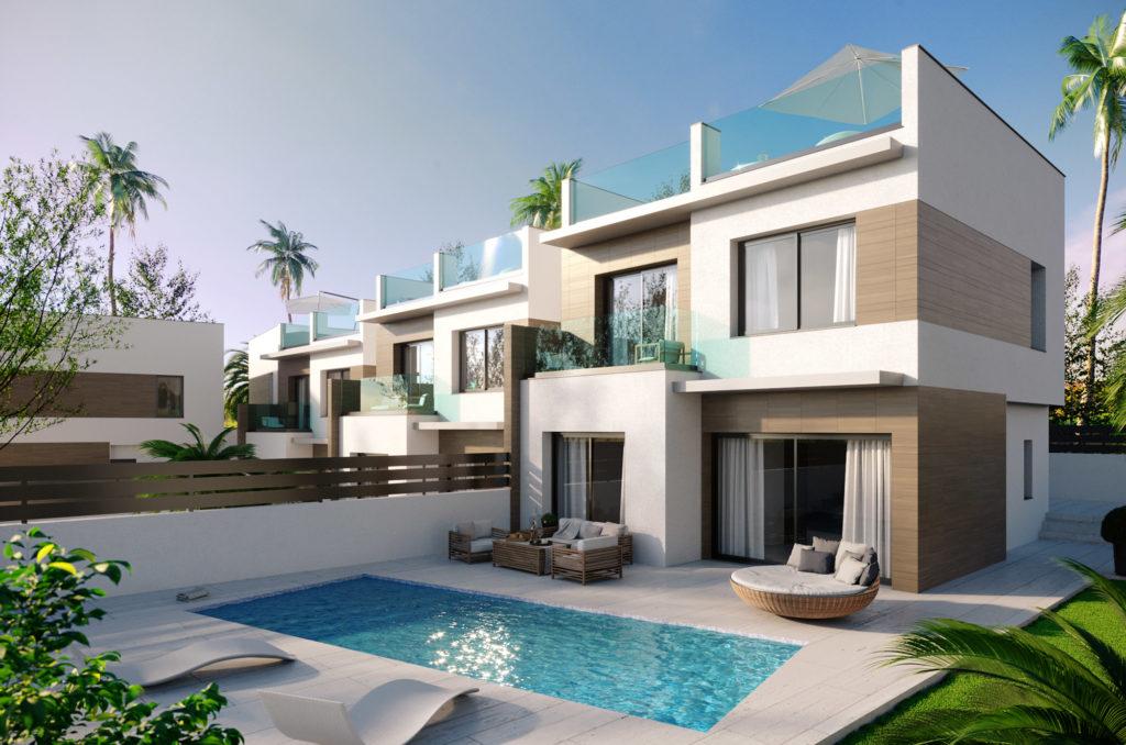 image Villa moderne à vendre à Benijofar Espagne