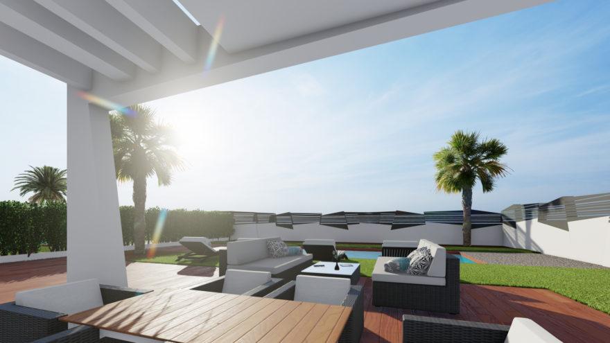 image Grande villa moderne à vender à Benidorm