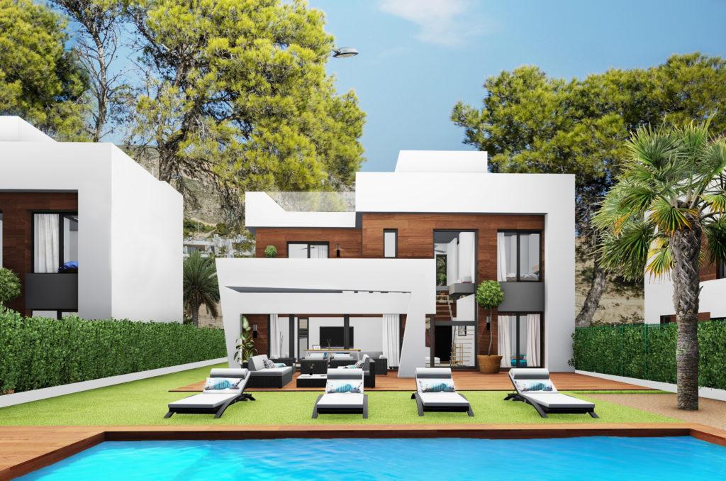 image Modern villa for sale in Benidorm Spain