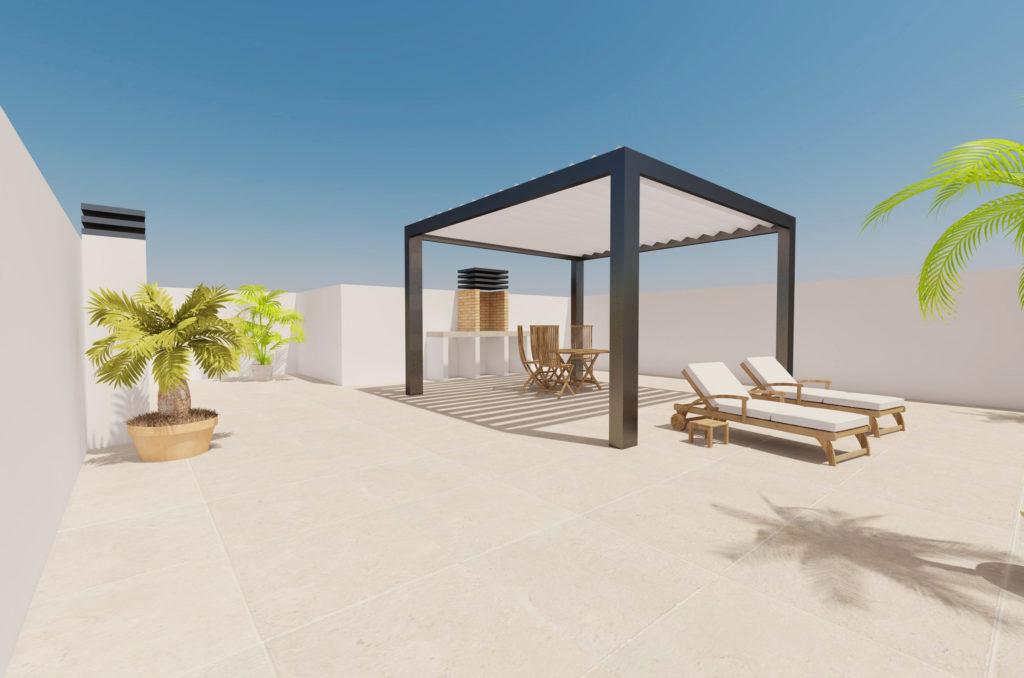 image Maison plain-pied avec solarium à vendre à Pilar de la Horadada