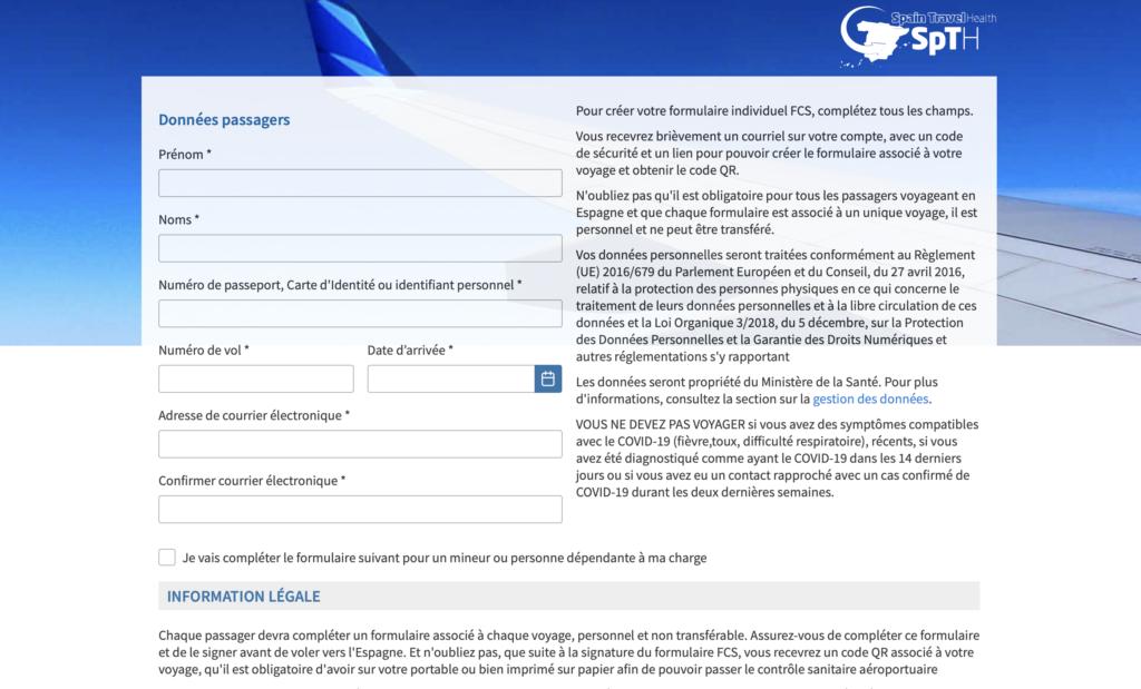 image Le formulaire de contrôle sanitaire FCS