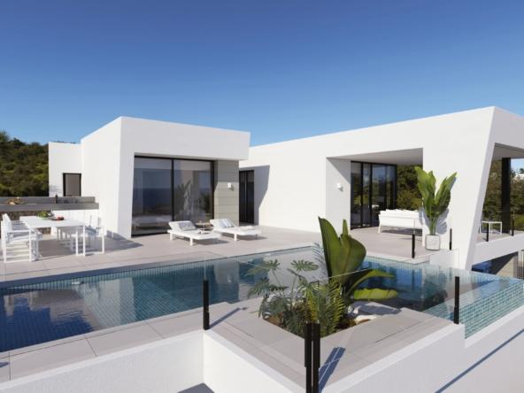 image Villa vue mer à vendre en Espagne région Alicante